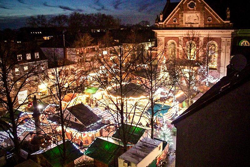 Ja, ist denn schon wieder Weihnachten? 9 Krefeld-Hotspots